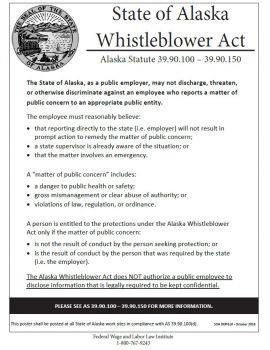 Alaska Spec Whistleblower