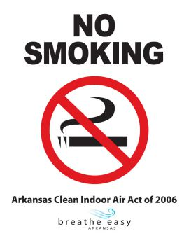 Arkansas Spec Clean Indoor Air Act