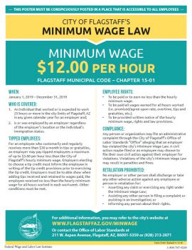 Arizona Spec Flagstaff Min Wage
