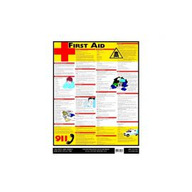 First Aid-English-Laminated