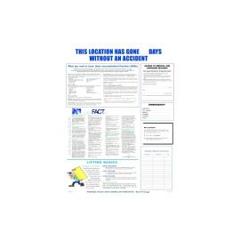 OSHA Safety-English-Laminated